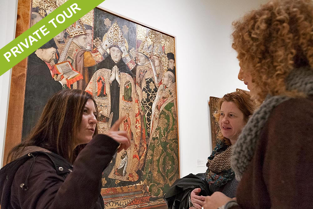 Private tour guide Barcelona Montjuic and MNAC