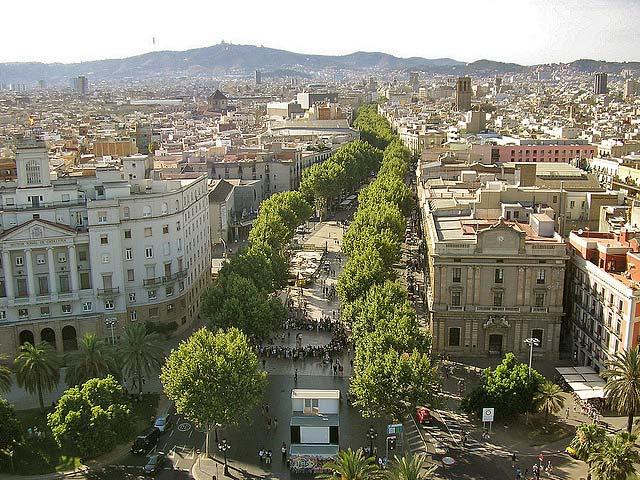 La Rambla of Barcelona