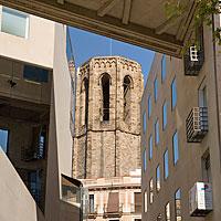 Santa María del Pi's bell tower