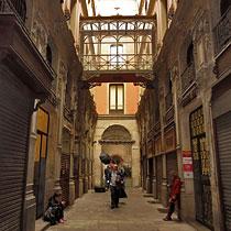 Passatge de Bacardí in Barcelona