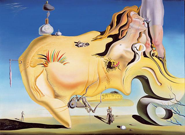 Salvador Dalí - The great masturbator (1929) Museo Reina Sofía
