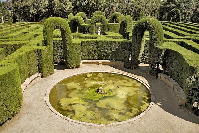 Horta Labyrinth Park - Barcelona