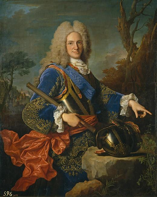 Portrait of Philip V (1723 - Jean Ranc) Museo Nacional del Prado