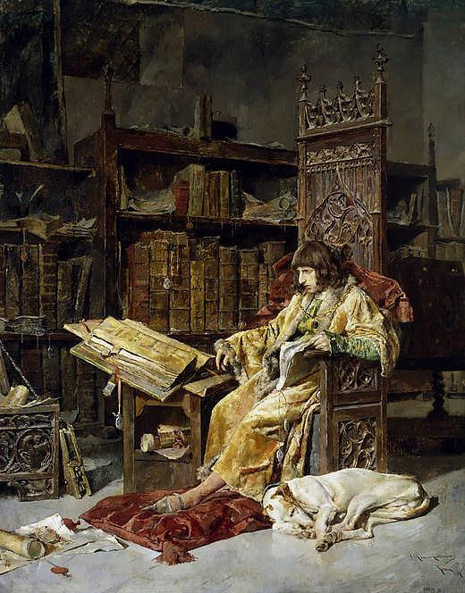 Prince Carlos de Viana (1881 - José Moreno Carbonero) Museo Nacional del Prado