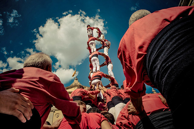 The Catalan Festival of Barcelona: Human towers and other traditions
