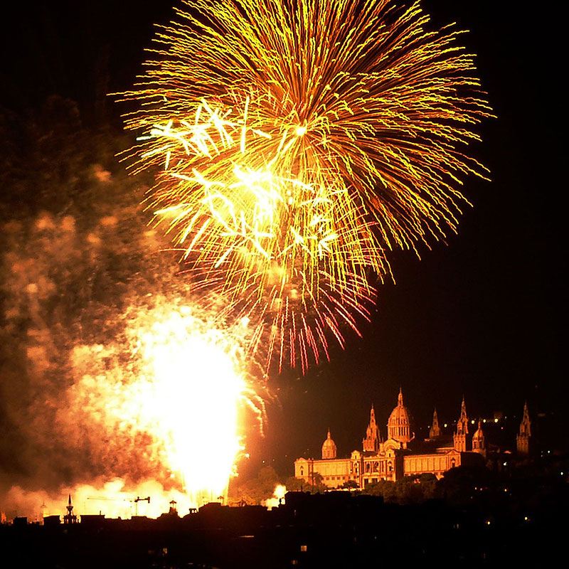 La Merce Barcelona - Fireworks