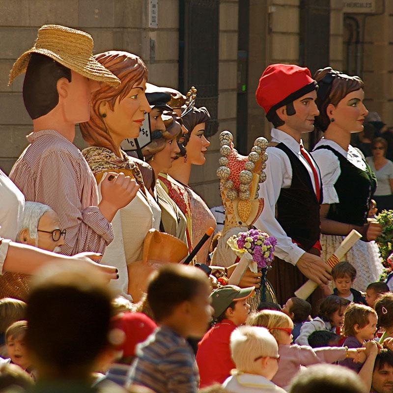 La Merce Barcelona - Giants Parade