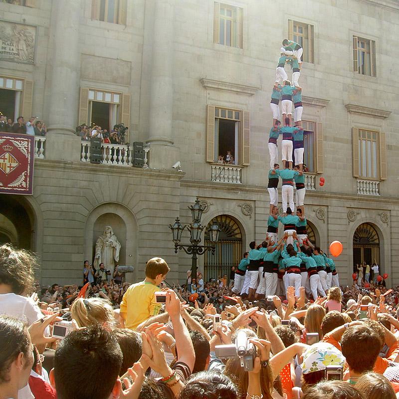 La Merce Barcelona - Human Towers