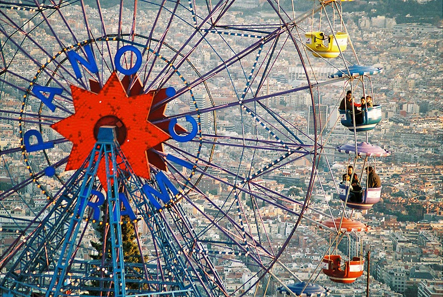 Fun attractions Barcelona - Tibidabo Amusement Park