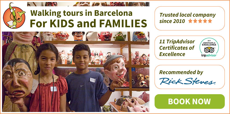 Kids Family Walking Tour Barcelona