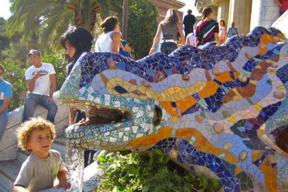 Park Güell for kids