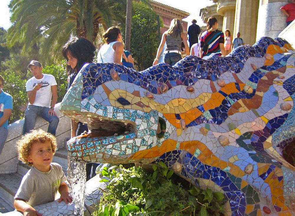 Park Güell for kids