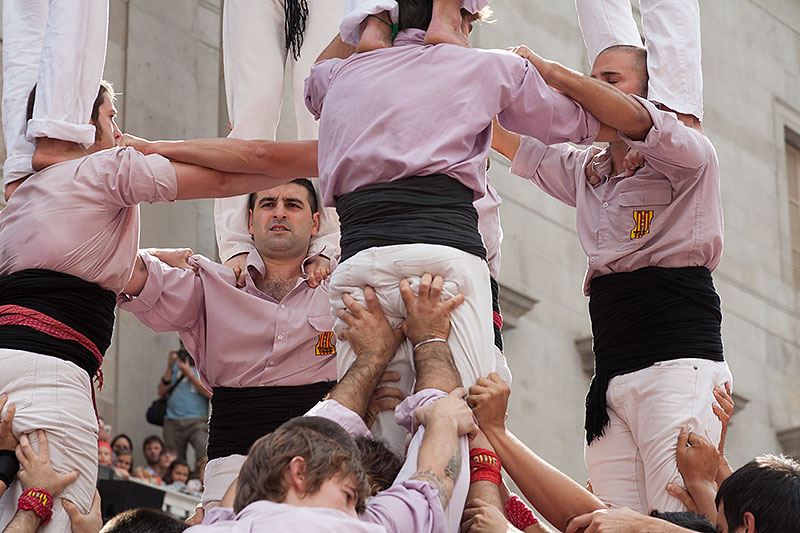 Where to see Castellers in Barcelona