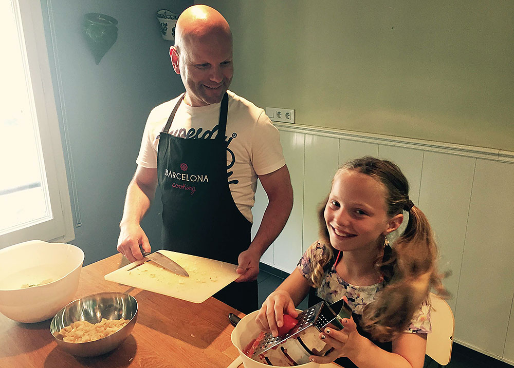 Cooking classes in Barcelona