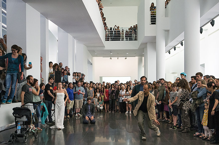 MACBA Night of the museums Barcelona