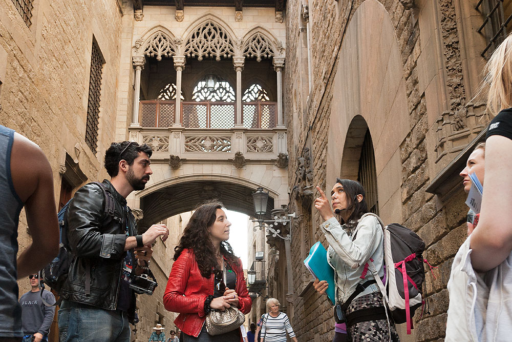 Gothic Quarter Free Walking Tour Barcelona
