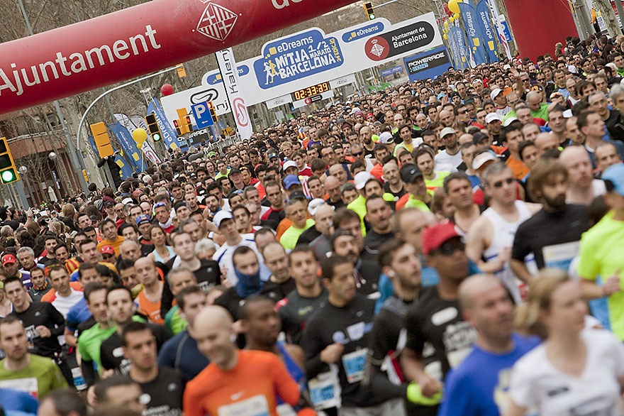 Half Marathon Barcelona
