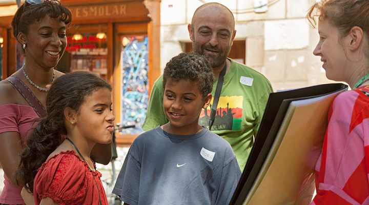 Kids and Family Walking Tour Barcelona