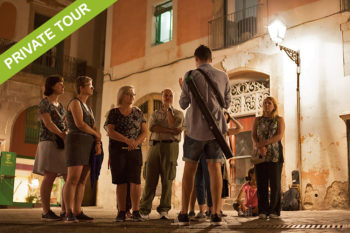Dark Past Night walking tour private barcelona