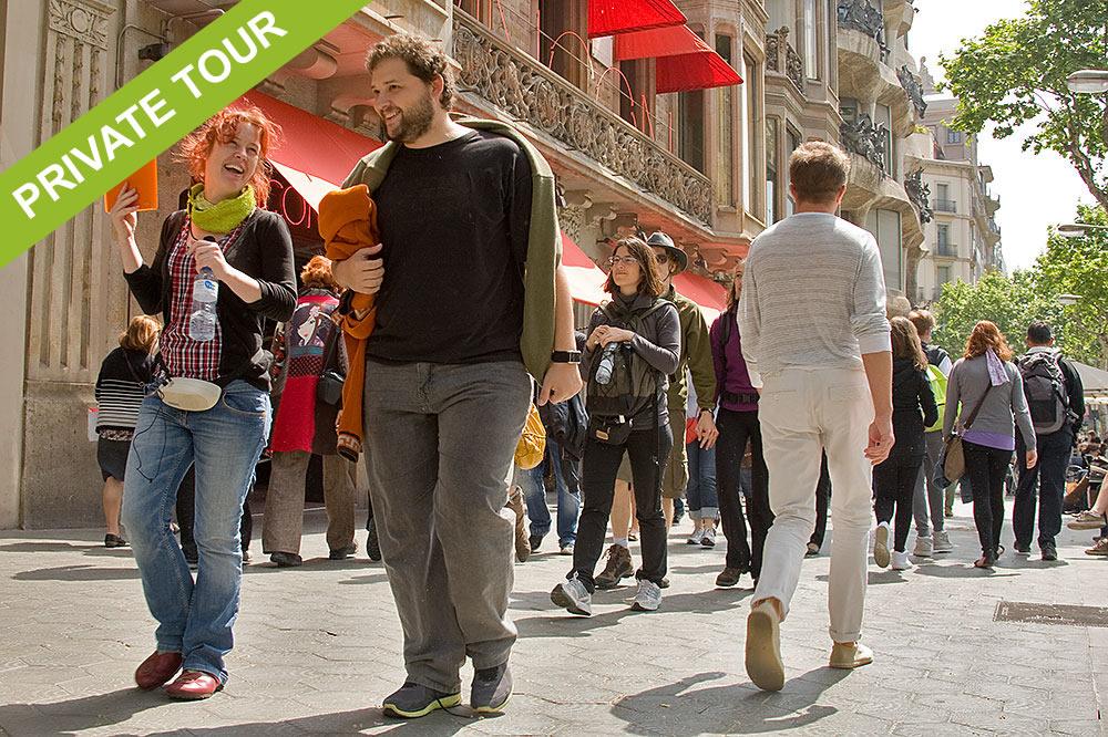 Gaudi at Passeig de Gracia and Sagrada Familia private tour barcelona