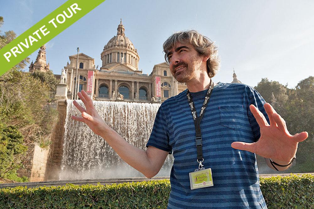 MNAC and Placa Espanya private tour Barcelona