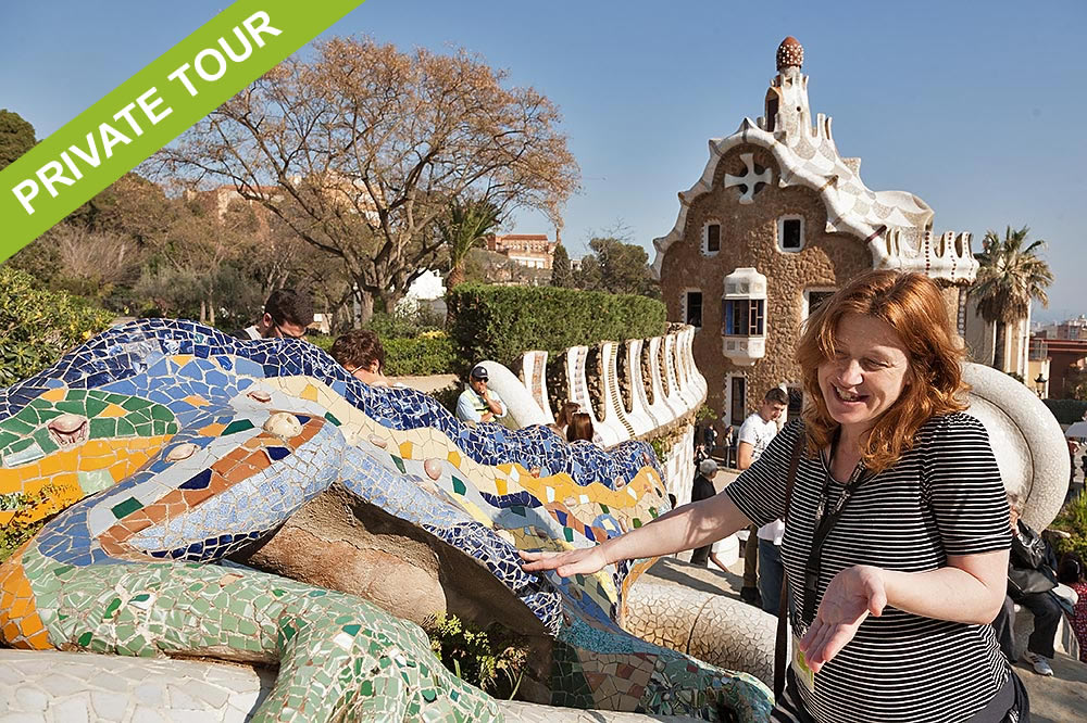 Private tour Barcelona Park Guell and Gracia