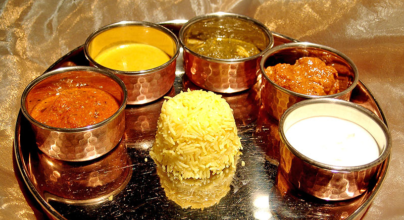 Thali - Bembi Indian restaurant Barcelona