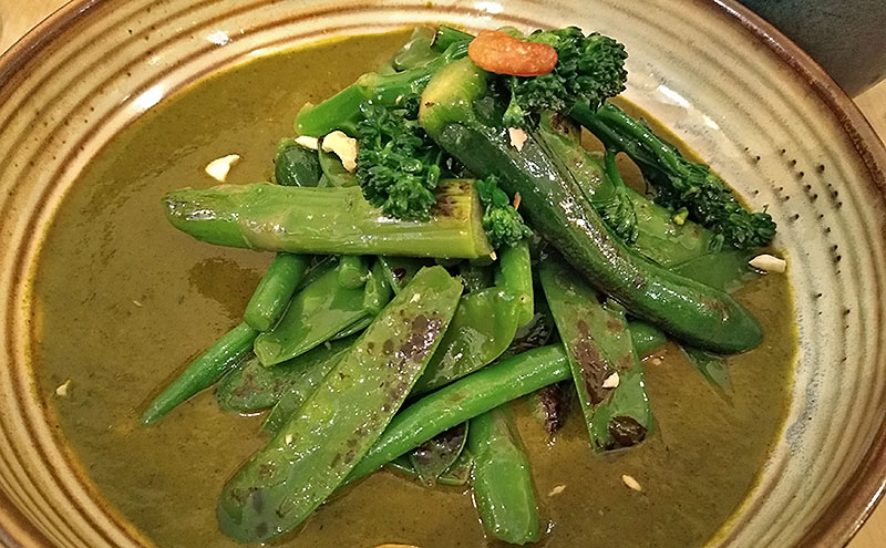 Green Vegetable Korma - Barcelona Indian restaurants
