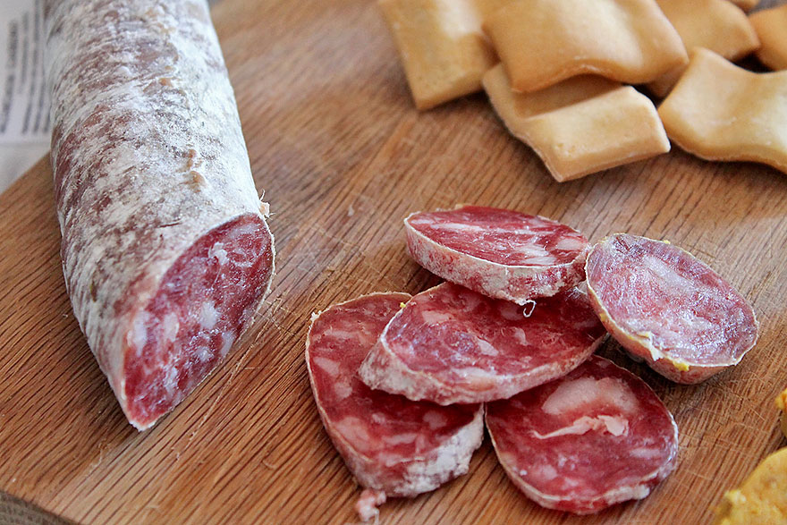 Catalan Fuet (dried cured pork)