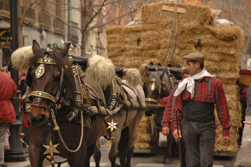 January in Barcelona - Els Tres Tombs