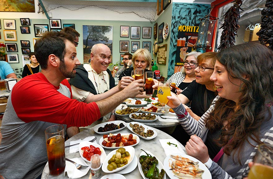 Barcelona food tour with The Barcelona Taste