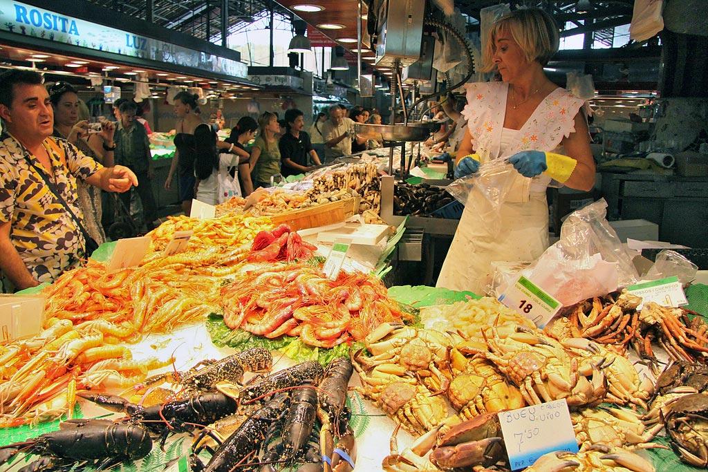 La Boqueria Food Market - Barcelona