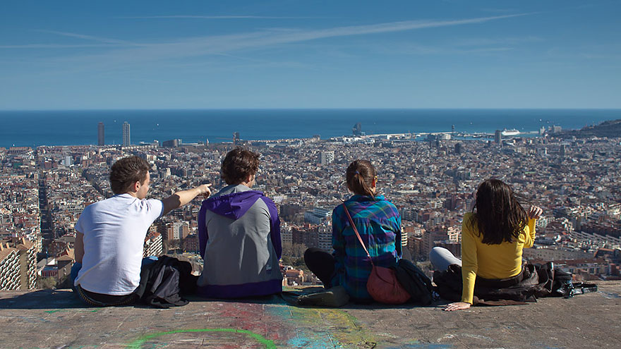 Free viewpoint in Barcelona
