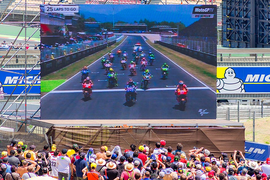 Moto GP - June in Barcelona