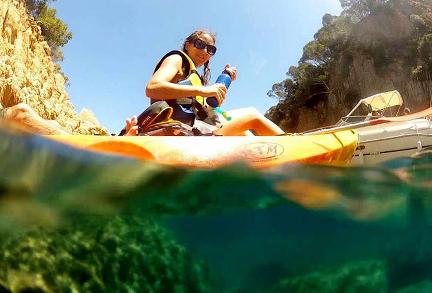 Kayaking tours from Barcelona