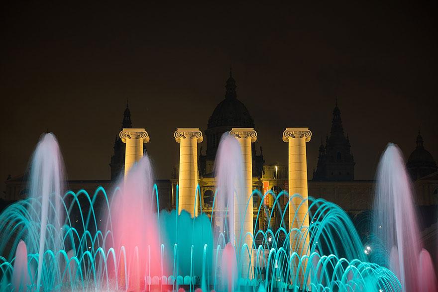 Montjuïc Magic Fountain Barcelona