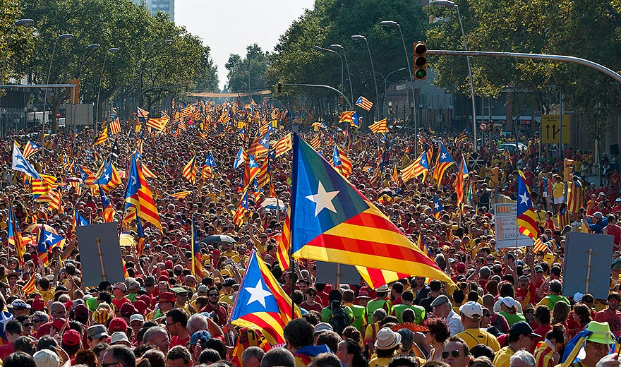 Catalonia's National Day demonstration (Barcelona, September 11th)