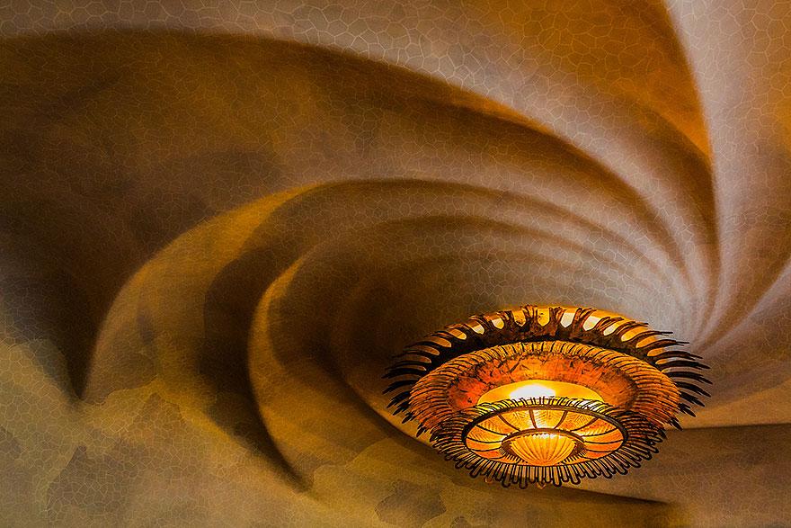 Ceiling at Casa Batlló