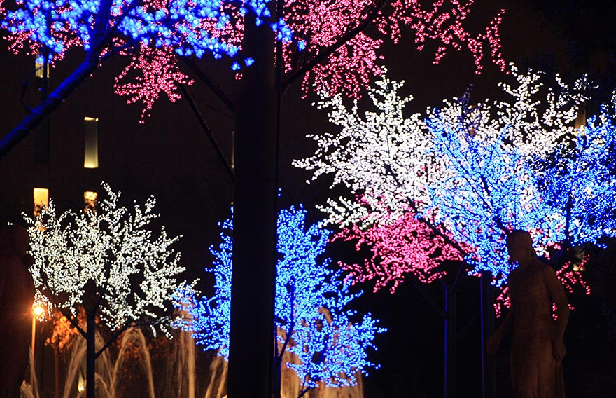 Christmas lights - Barcelona in December