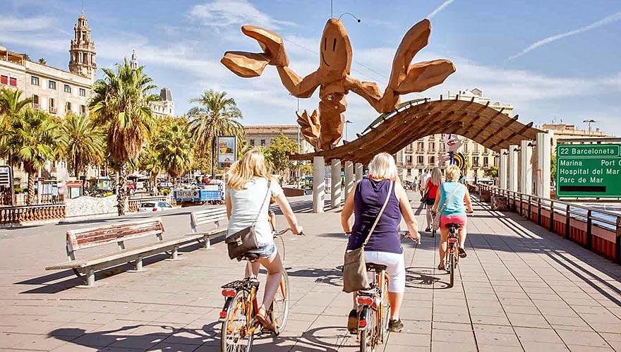 Free Bike Tour Barcelona