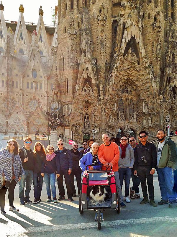 Sagrada Familia on the Gaudi Free Tour