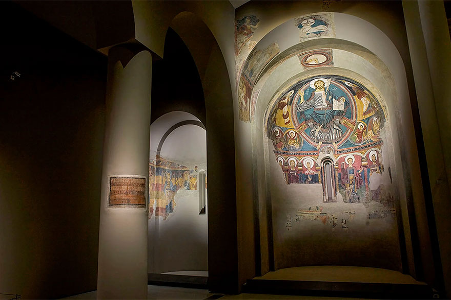 Romanesque collection at MNAC Barcelona
