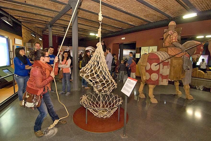 Catalonia's History Museum in Barcelona