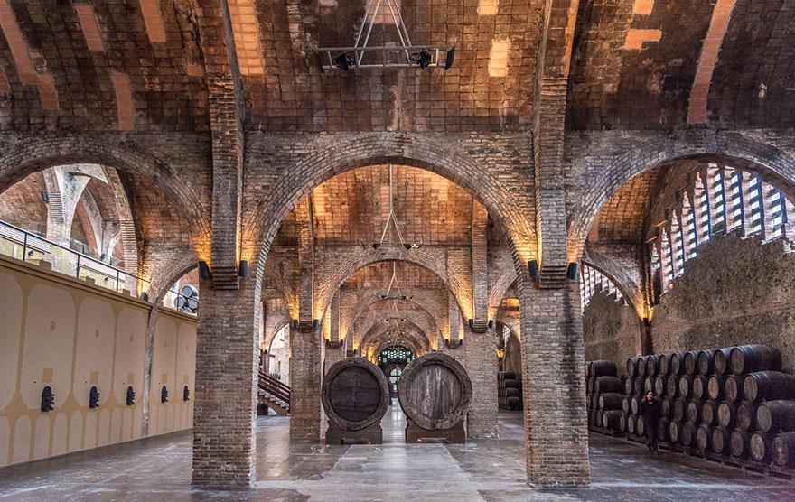 Codorníu cellars