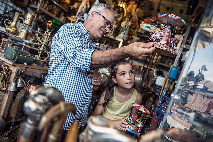 Els Encants Flea Market in Barcelona