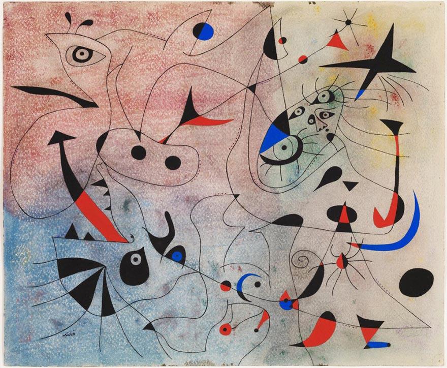 Morning Star at Joan Miró's Foundation in Barcelona