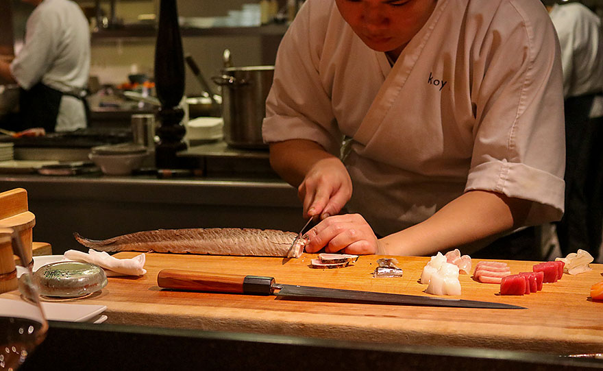 Koy Shunka Barcelona Japanese restaurant